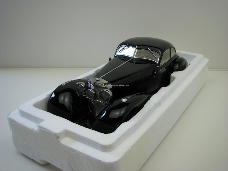 Mercedes-Benz 540K Black 1:18 KK-Scale